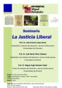 Seminiario La Justicia liberal